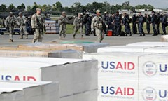 USAID Soldiers