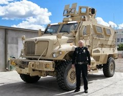Chief Geddes And MRAP