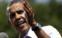 Obama Speaking Angry