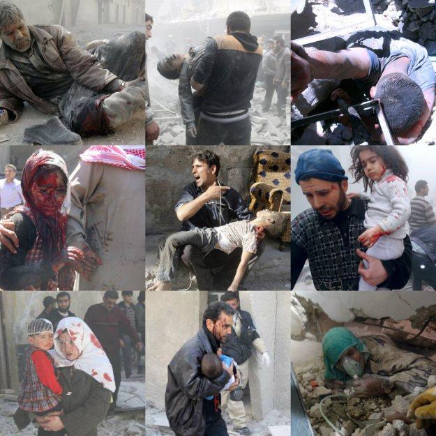 Αποτέλεσμα εικόνας για ghouta syria fake news chemical