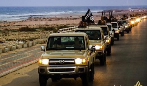 how did isis get toyota trucks