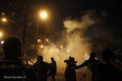 Clashes In Cairo In December Moud Barthez