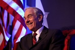 Ron Paul Happy Presidential Flag 2 Gage